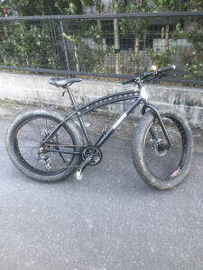 Fat bike skipper. It is easy to ride with a transmission