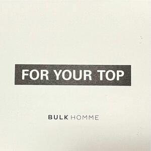 【試供品】BULK HOMME シャンプー&トリートメント サンプル バルクオム