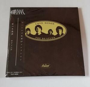CD輸入盤リプロ盤 紙ジャケ Beatles Love Songs ビートルズ ラブ・ソングス