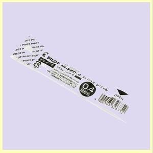 ☆★即決歓迎★☆新品☆未使用★ ボ-ルペン替芯 パイロット A-5C 10本 ブラック ハイテックCスリム LHRF-20C4-B 0.4mm
