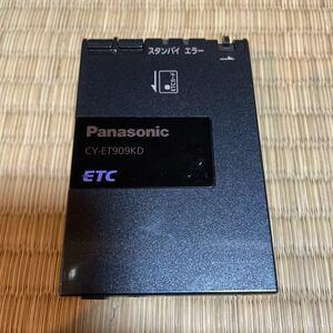 ETC 軽自動車登録 パナソニック CY-ET909KD アンテナ分離型 音声案内 動作確認済み