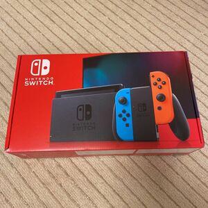 ニンテンドースイッチ ネオンレッド ネオンブルー ニンテンドースイッチ本体 Nintendo Switch 本体