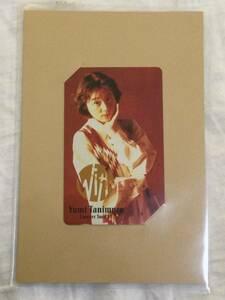 谷村有美「YUMI TANIMURA Concert Tour '91」With テレホンカード(ポストカード型台紙付き) 未開封の商品画像