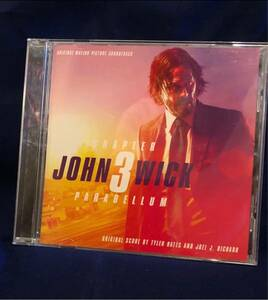 ジョンウィック パラベラム チャプター3 サントラ CD