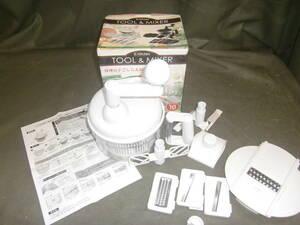 D-キッチン ツール&ミキサー おろし器なし 箱 説明書 あり 中古 現状 管理番号863