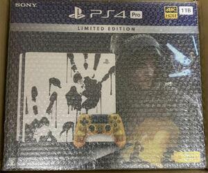 新品 未開封 PlayStation4 PRO DEATH STRANDING LIMITED EDITION 1TB CUHJ-10033 PS4 本体 デスストランディング リミテッド エディション
