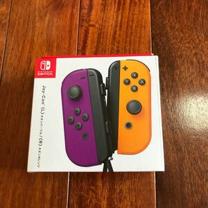 新品未開封 switch joy-con ネオンパープル ネオンオレンジ  ジョイコン  Joy-Con (L) スイッチ