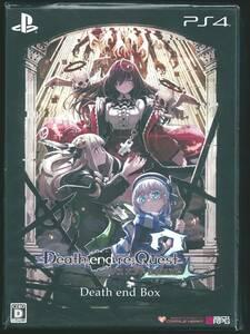 ☆PS4 Death end re;Quest 2 Death end BOX デス エンド リクエスト 【特典】描き下ろしイラスト使用のオリジナル収納BOX、ビジュアル…