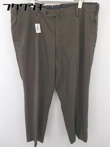 ◇ MIZUNO GOLF ミズノ ゴルフ タック スラックス パンツ サイズ105 ブラウン メンズ