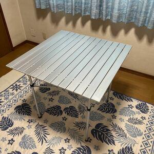 廃盤 コールマン アルミ製ロールテーブル