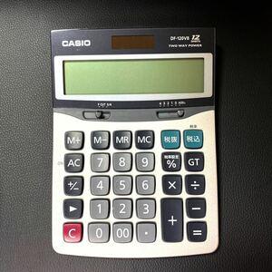 カシオ電卓 DF-120VB