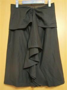 INTRENDイントレンド 秋・冬素材 お洒落なタイトスカート 42