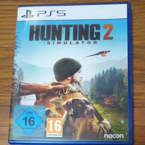 【 PS5 】EU版 HUNTING SIMULATOR 2 (国内版本体動作可)
