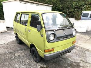 without document part removing Hijet Van S38V previous term engine starting OK 2 cycle 360CC brake is NG Okayama from