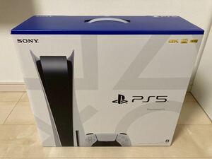 新品未使用未開封 保証1年 PS5 PlayStation5 本体 CFI-1100A01 SONY プレイステーション5