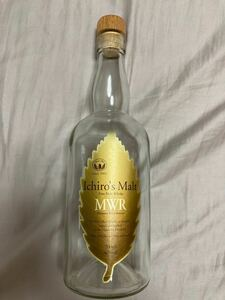 イチローズモルト ミズナラウッドリザーブ ベンチャー ウイスキー 空瓶 MWR