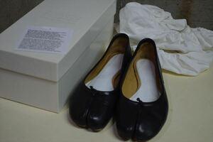 メゾン マルタン マルジェラ Maison MARTIN MARGIELA 11 フラット 足袋 タビ パンプス 37 バレー シューズ靴 C8216