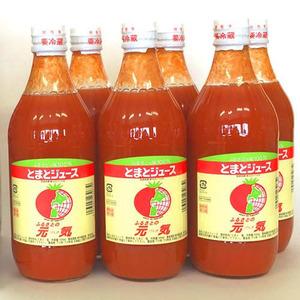 トマトジュース 北海道 下川町 とまとジュース ふるさとの元気 500ml×30本 (500ml×6本×5箱) 送料無料
