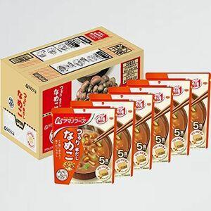 未使用 新品 アマノフ-ズ アサヒグル-プ食品 Y-TZ うちのおみそ汁赤だしなめこ5食 ×6袋