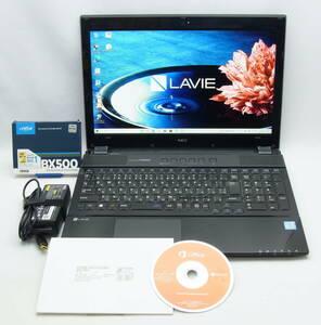 ★タッチパネルフルHD IPS液晶★ NEC LAVIE NS750/G・第7世代・Core i7-7500U・Blu-ray・新品SSD 1TB・メモリ 16GB・Office 2016 (未開封)