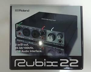 ローランド USBオーディオインターフェイス Roland RUBIX-22