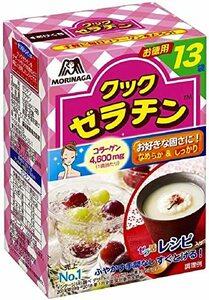 13袋 (x 4) 森永製菓 クックゼラチン 13袋入り (5g×13P)×4箱