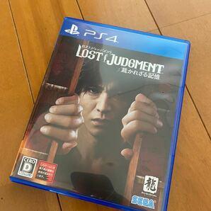 【PS4】 ロストジャッジメント 美中古