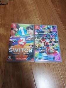 Nintendo Switch 1-2-Switch(ワンツースイッチ) と マリオカート8 デラックス