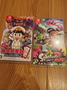 Nintendo Switch スプラトゥーン2 と 桃太郎電鉄