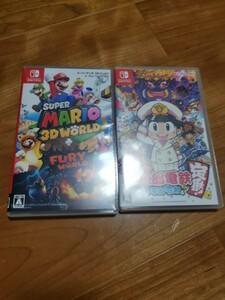 Nintendo Switch スーパーマリオ 3Dワールド + フューリーワールド と 桃太郎電鉄 昭和 平成 令和も定番