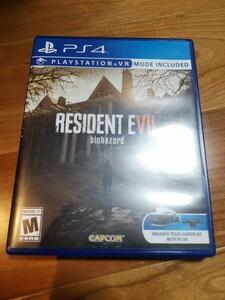 PS4 RESIDENT EVIL 北米版 バイオハザード7 日本語選択可能