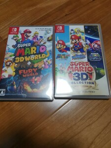 Switch スーパーマリオ 3Dワールド + フューリーワールド と スーパーマリオ3Dコレクション