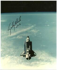 STS-7 スペースシャトル・チャレンジャー サリー・ライド  サイン フォト