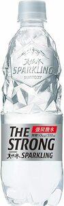 510ミリリットル (x 24) サントリー THE STRONG 天然水スパークリング 炭酸水 510ml ×24本
