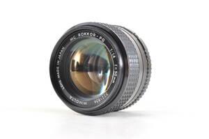 ★超極上★MINOLTA ミノルタ MC ROKKOR-PG 50mm F1.4