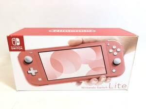 GH211026-01K/ ニンテンドー スイッチライト 本体 コーラル ピンク Nintendo Switch Lite 中古
