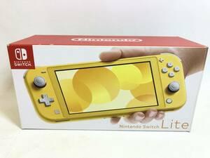 GH211026-03K/ ニンテンドー スイッチライト 本体 イエロー Nintendo Switch Lite 中古
