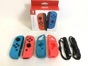 GH211028-02K/ ニンテンドースイッチ Joy-Con (L) ネオンレッド/ (R) ネオンブルー 2個セット ジョイコン Nintendo Switch