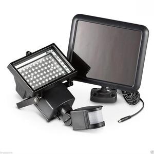 【新商品】驚きの照射力 LED 100灯 搭載 人感 センサー ライト 1400lm 太陽光 ソーラー パネル 防犯 玄関灯