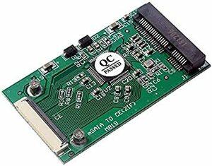 mSATA(PCI-E) SSD→ZIF/CE 変換 アダプター
