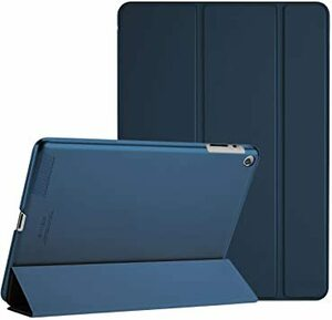 ネービー iPad 2 3 4 ProCase iPad 2 3 4 ケース(旧型) 超薄型 軽量 スタンド機能 スマートケース