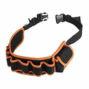 工具腰袋 工具袋 工具差し 腰袋 電工ベルト ウエストバッグ ガーデニング 作業 園芸 携帯 工具入れ& ベルトバッグ