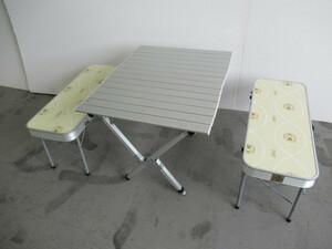 Coleman コールマン ピクニックベンチセット2 170-7529 チェア テーブル ベンチ セット アウトドア キャンプ テーブル/チェア 026078007