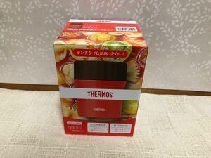 真空断熱スープジャー 500ml JBX-500 R レッド