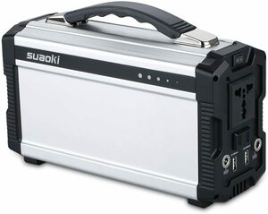 suaoki ポータブル電源 S601 222Wh(3.7V 60000mAh/11.1V 20000mAh) 正弦波 AC & DC & USBなど出力