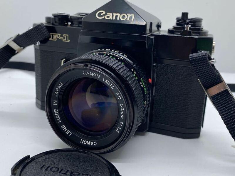 ●Canon F-1 + FD 50mm 1:1.4 シャッターOK