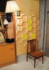 ビンテージ ウッド ダイニングチェア 椅子/アンティーク ヴィンテージ レトロ 木製