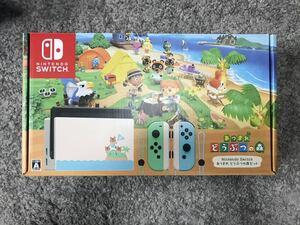 新品!Nintendo Switch スイッチ あつまれどうぶつの森セット 本体