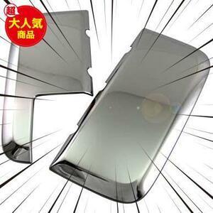 【期間限定】BRIGHTZ エブリィワゴン DA17W 超鏡面ステンレスメッキフロントバンパーグリルサイドパネル 2PC 【ZPIM