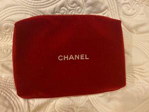 シャネル メイクポーチ 化粧ポーチ Chanel ベロア バッグ